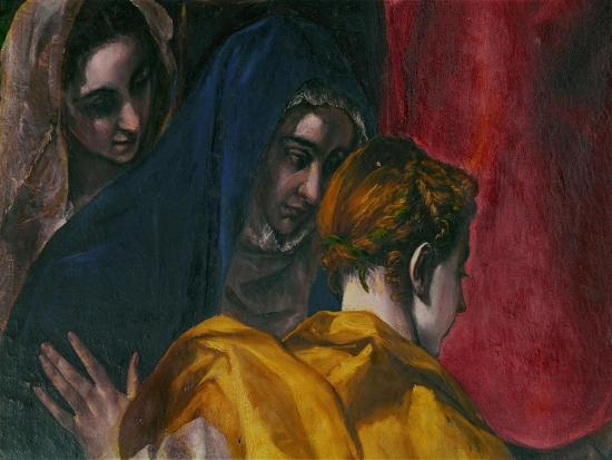 The Disrobing of Christ, 1577-1579-El Greco-Giclee Print