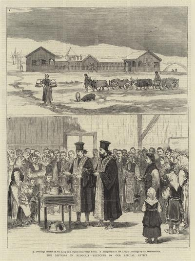 The Distress in Bulgaria--Giclee Print