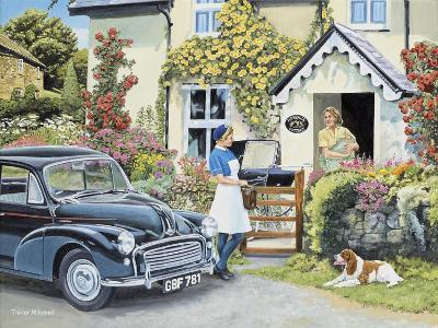 The District Nurse-Trevor Mitchell-Giclee Print