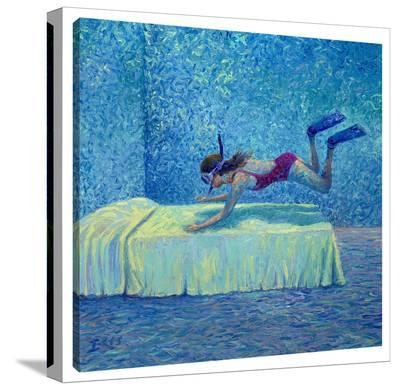 The Diver-Iris Scott-Gallery Wrapped Canvas