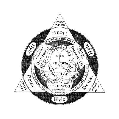 The Divine Harmony of the Microcosm and the Macrososm, C1617--Giclee Print