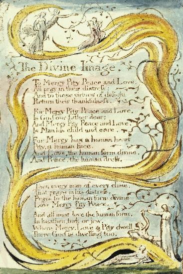 The Divine Image, 1789-William Blake-Giclee Print