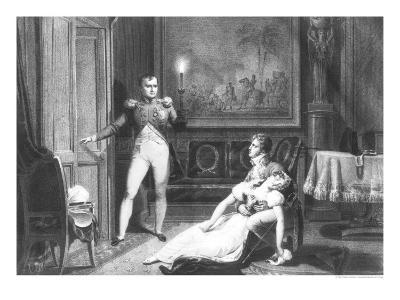 The Divorce of Napoleon I and Josephine Tascher de La Pagerie 30th November 1809-Charles Abraham Chasselat-Giclee Print