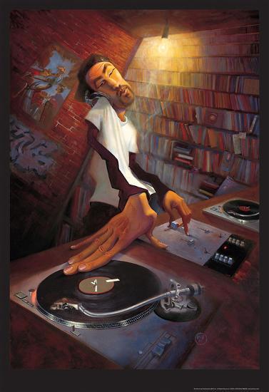 The DJ-BUA-Art Print