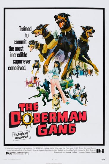The Doberman Gang, 1972--Art Print