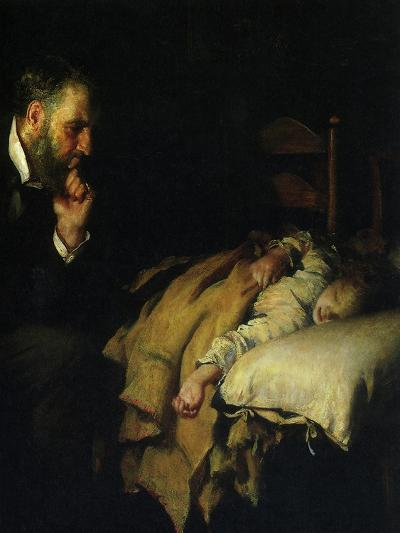The Doctor, 1891--Giclee Print