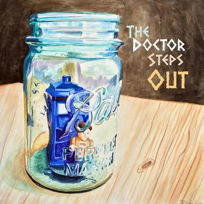 The Doctor Steps Out 2-Jennifer Redstreake Geary-Art Print