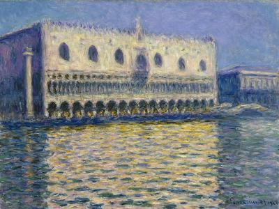 The Doge's Palace in Venice. 1908-Claude Monet-Giclee Print