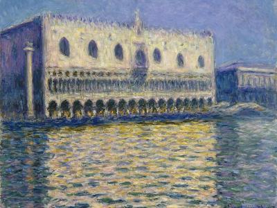The Doges Palace (Le Palais Duca), 1908-Claude Monet-Giclee Print
