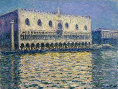 The Doges Palace-Claude Monet-Giclee Print