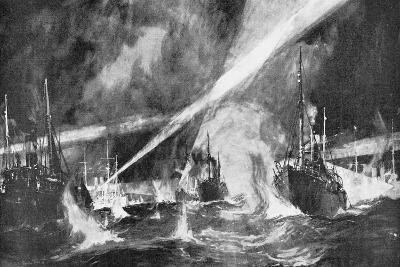 The Dogger Bank Incident, Russo-Japanese War, 1904-5--Giclee Print