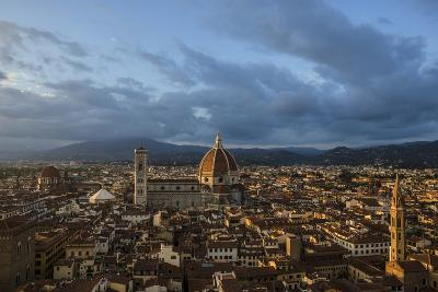 The Dome of the Cathedral of Santa Maria Del Fiore in Florence-Dave Yoder-Photographic Print