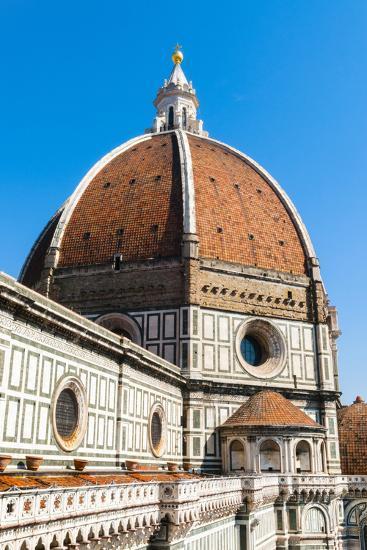 The Dome of the Duomo Santa Maria del Fiore, Florence, Tuscany, Italy-Nico Tondini-Photographic Print