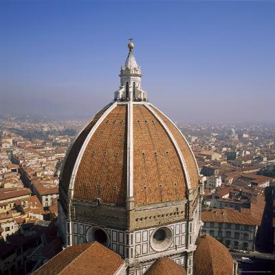 The Dome of the Duomo Santa Maria Del Fiore, Overlooking Florence, Tuscany, Italy-Roy Rainford-Photographic Print