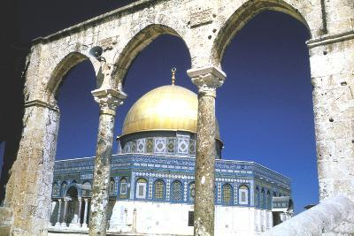 The Dome of the Rock, Jerusalem, Built 685-69--Photographic Print