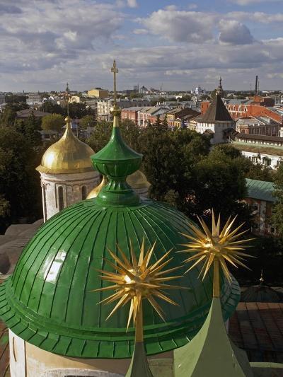 The Domes of Monastery of Transfiguration of Saviour--Giclee Print