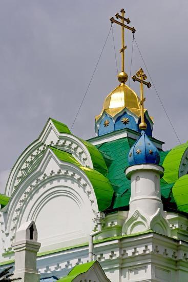 The Domes of the Sv Ekaterininskaya Church, Feodosia, Crimea, Ukraine--Photographic Print