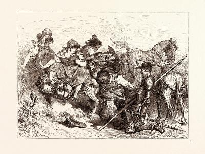 The Don Deceived-Gustave Dore-Giclee Print