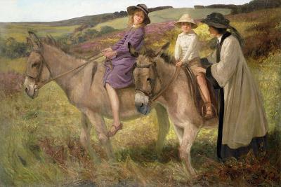 The Donkey Ride, 1912-George Edmund Butler-Giclee Print