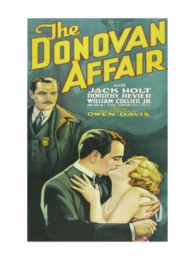 The Donovan Affair--Art Print