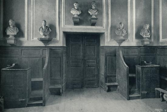 'The Door from Upper School to Chapel Stairs', 1926-Unknown-Photographic Print