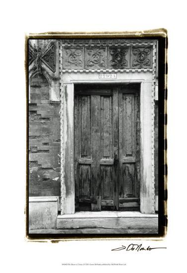 The Doors of Venice I-Laura Denardo-Art Print