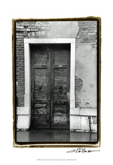 The Doors of Venice III-Laura Denardo-Art Print