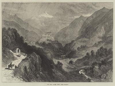 The Dora Valley, Mont Cenis Railway--Giclee Print