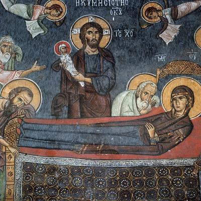 The Dormition, Detail--Giclee Print