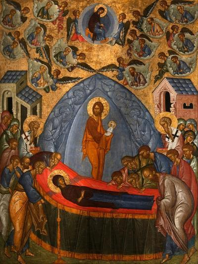 The Dormition of the Virgin, 15th Century--Giclee Print