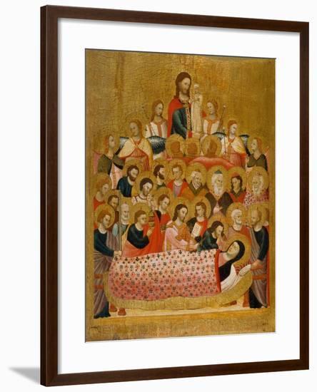 The Dormition of the Virgin--Framed Giclee Print