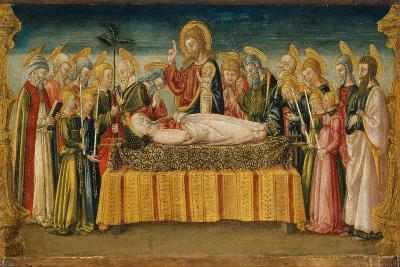 The Dormition of the Virgin-Neri Di Bicci-Giclee Print