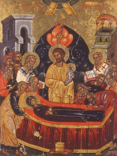 The Dormition of the Virgin--Giclee Print