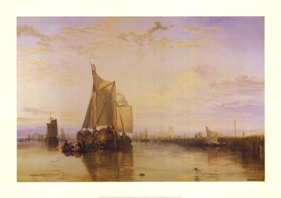 The Dort Packet-Boat from Rotterdam-J^ M^ W^ Turner-Art Print