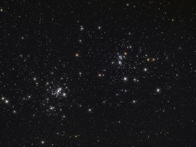 The Double Cluster in the Constellation Perseus-Stocktrek Images-Photographic Print