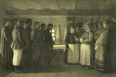 The Doukhobors Praying, 1865-Vasili Vasilyevich Vereshchagin-Giclee Print