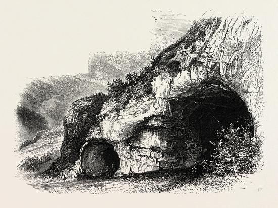 The Dove Holes, Dove Dale, the Dales of Derbyshire, Country, UK, 19th Century--Giclee Print