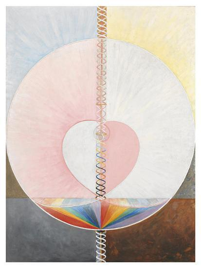 The Dove, No.1, Group Ix/Uw, 1910-Hilma af Klint-Giclee Print