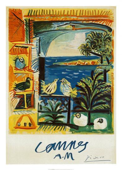 The Doves, 1957-Pablo Picasso-Art Print