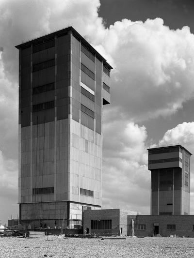 The Downcast Koepe Tower at Cotgrave Colliery, Nottinghamshire, 1963-Michael Walters-Photographic Print