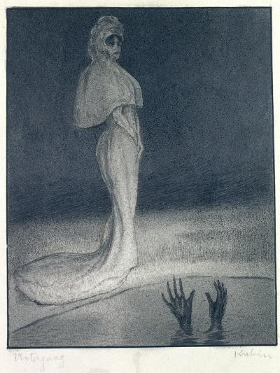 The Downfall, 1903-Alfred Kubin-Giclee Print