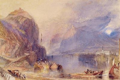 The Drachenfels, Germany, C.1823-24-J^ M^ W^ Turner-Giclee Print