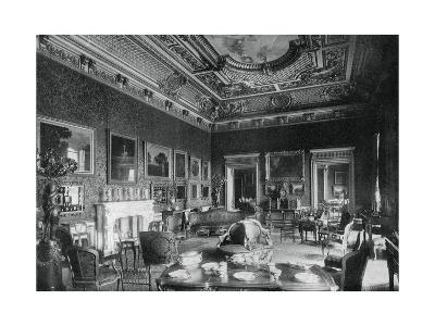The Drawing-Room, Montagu House, 1908- J & Sons Russell-Giclee Print