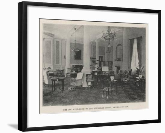 The Drawing-Room of the Sackville Hotel, Bexhill-On-Sea--Framed Giclee Print
