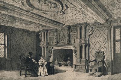 The Drawing-Room, Park Hall, Shropshire, 1915-CJ Richardson-Giclee Print