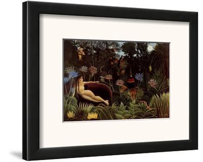 The Dream, 1910-Henri Rousseau-Framed Art Print