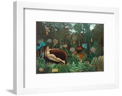 The Dream, 1910-Henri Rousseau-Framed Giclee Print