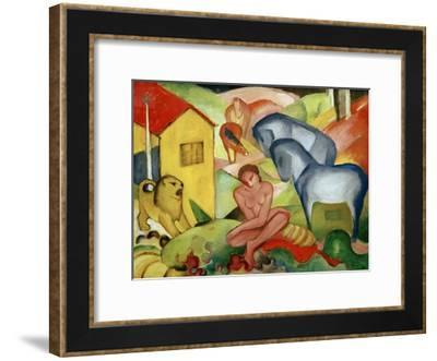 The Dream 1912-Franz Marc-Framed Giclee Print