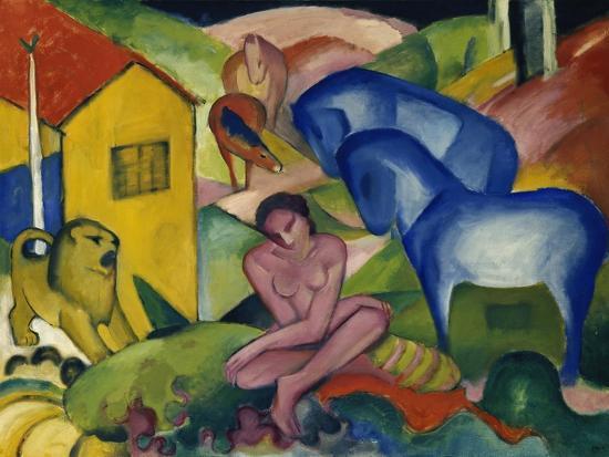 The Dream, 1912-Franz Marc-Giclee Print