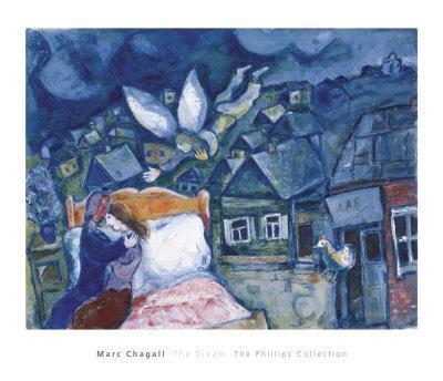 The Dream, 1939-Marc Chagall-Art Print